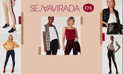 C&A Seja a Virada Coleção Outono Inverno 2019.