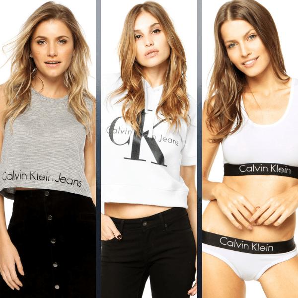 419e2ac12 Uma das mais conhecidas e populares marcas, a Calvin Klein possui uma vasta  variedade de produtos sofisticados e também casual. Ela conseguiu garantir  seu ...