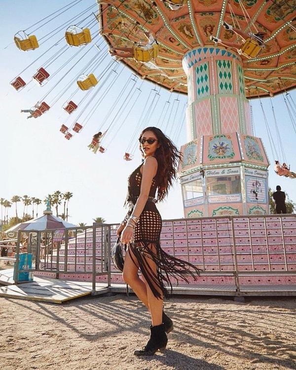Look Coachella Texturas