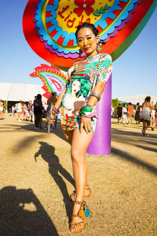 Look Coachella Cores