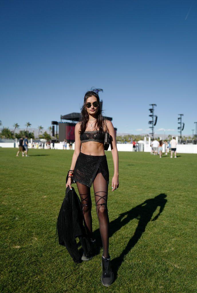 Look Coachella Transparência