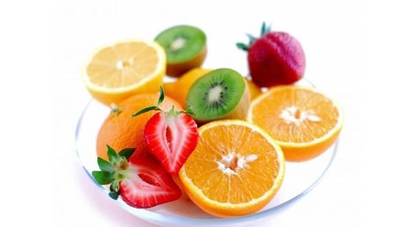 alimentos bons para o cabelo frutas
