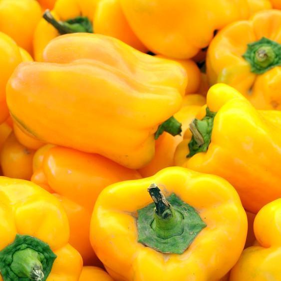 alimentos bons para o cabelo pimentão amarelo