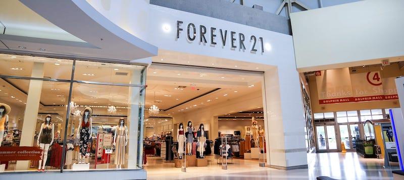 lojas de departamento forever 21