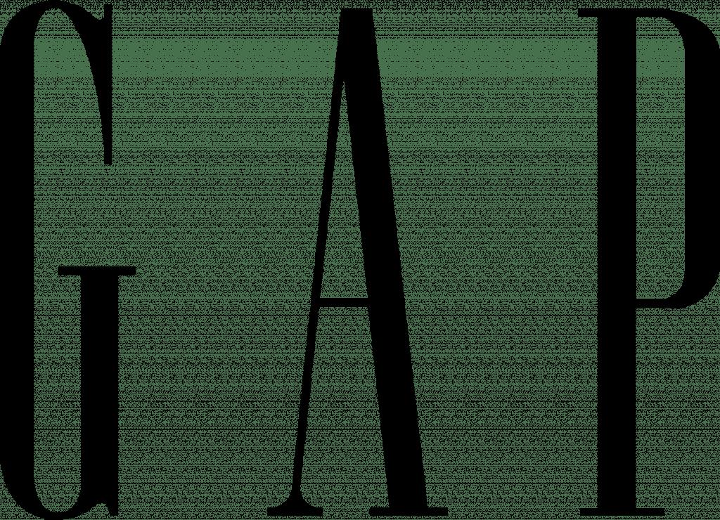 lojas de departamento gap logo