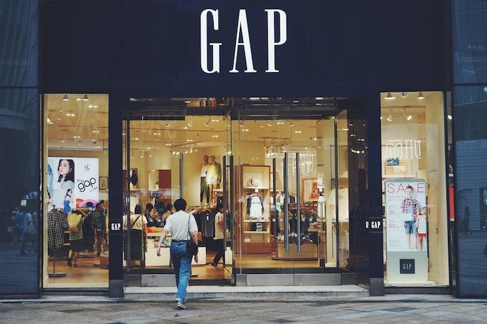 lojas de departamento gap