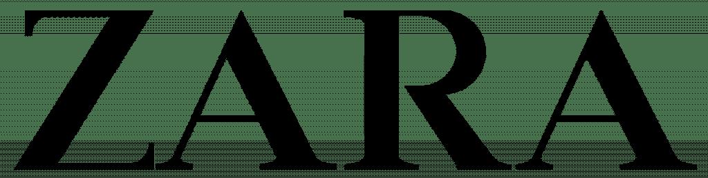 lojas de departamento logo zara