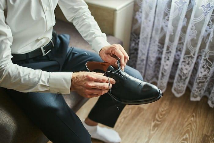 look de trabalho sapatos