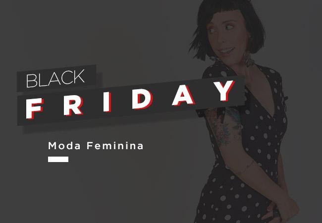 Moda Feminina black friday