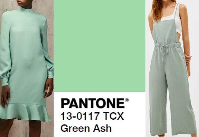 Cores para o ano novo: Green Ash