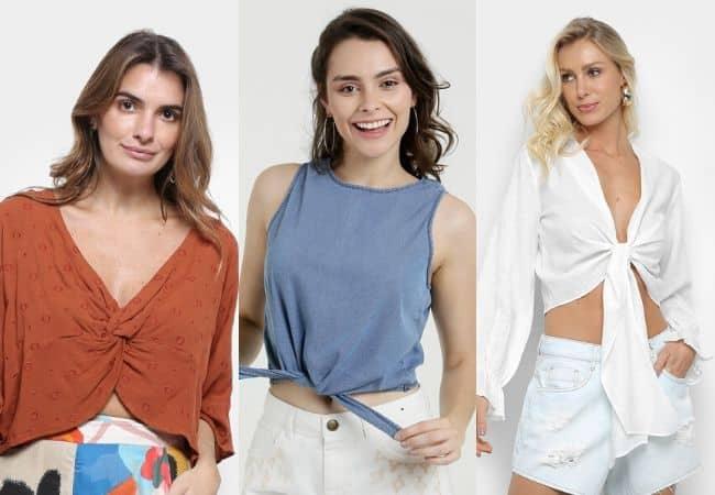 Summer Vibes: Blusas de Nó